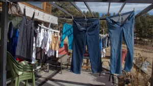 Hanging Clothes Out to Dry