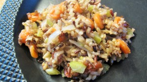 Easy Wild Rice with Vegetables