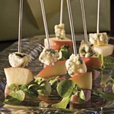 Ham & Cheese Skewers